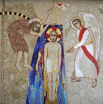 Baptême du Christ Rupnik